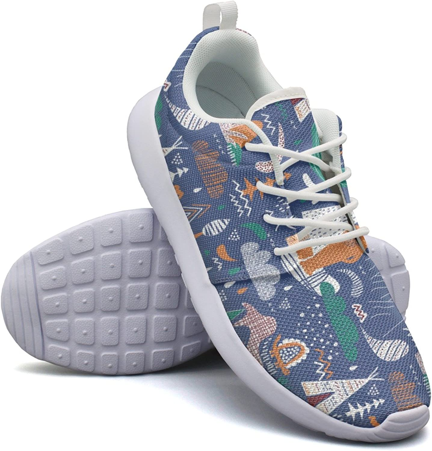 Cartoon TeePee Bear Forest Womens Cool Casual Running shoes Hunting Comfortable