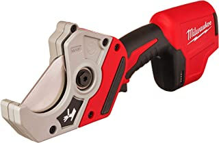 MILWAUKEE'S M12 12-Volt Cordless PVC Shear (2470-20) (Power Tool Only - Battery, Charger and Accessories Sold Separately)