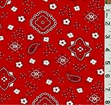 Best red bandana fabric Reviews