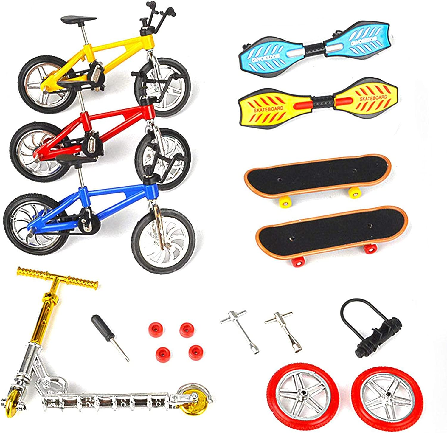 A R Mini Finger Toys Scooter Set Bikes Clearance All items in the store SALE Limited time Skateboards