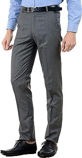 American-Elm Men's Slim Fit Formal Trouser