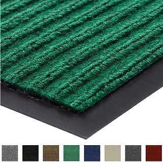 Gorilla Grip Original Low Profile Rubber Door Mat, 29x17, Heavy Duty, Durable Doormat for Indoor and Outdoor, Waterproof, Easy Clean, Home Rug Mats for Entry, Patio, High Traffic, Green
