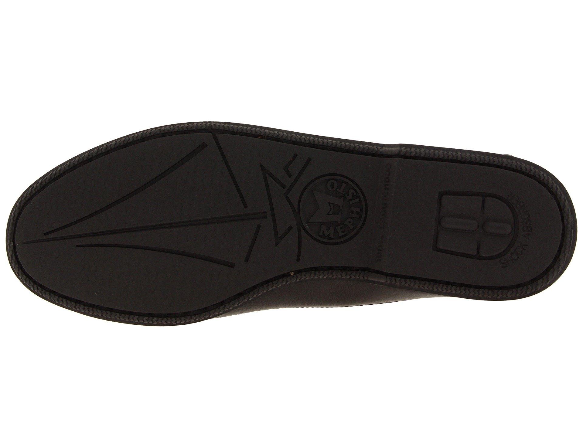 Smooth Mephisto Vert Black Leather Cap wx8Pxqf