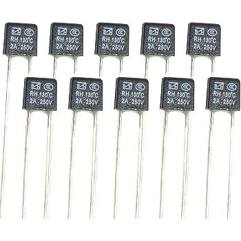 NTE Electronics VHT220M50 Series VHT Aluminum Electrolytic Capacitor Radial Lead 20/% Tolerance 105 Degree Max Temp 220 /µF Capacitance 50V Inc.