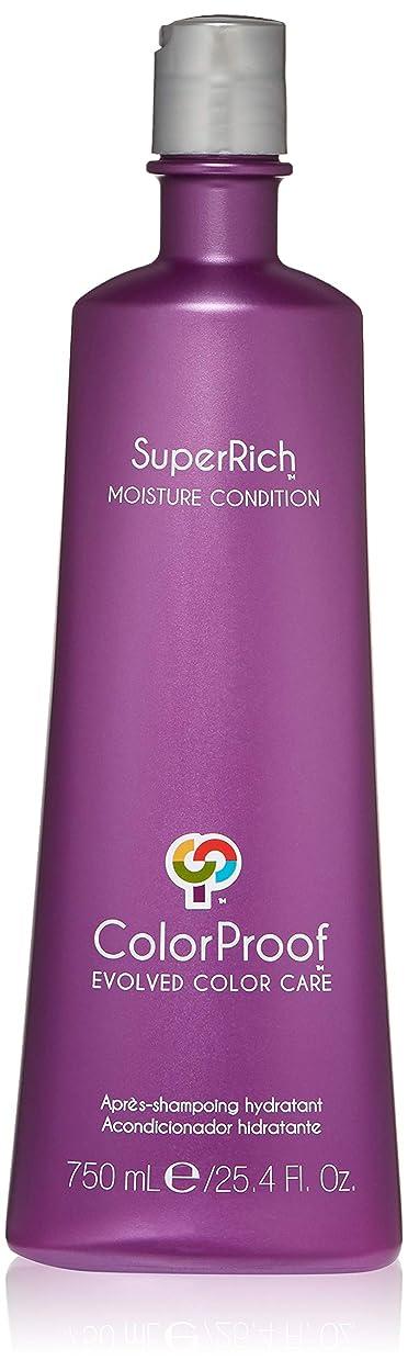 衝突するインタラクション名前でColorProof Super Rich Moisture Conditioner for Unisex, 25.4 Ounce by Colorproof