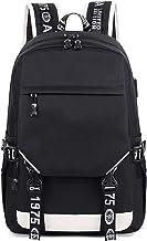 CVBGH Grote Capaciteit Usb-Poort 14-Inch Laptop Rugzak Student School Rugzak Outdoor Reizen Rijden Mode Gemakkelijk Mee Te...