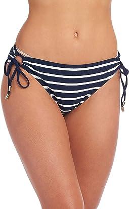 Capri Stripe Adjustable Loop Hipster
