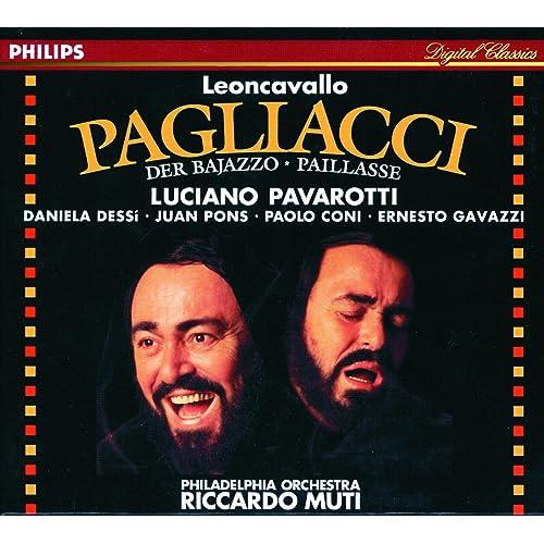 レオンカヴァッロ:歌劇《道化師》