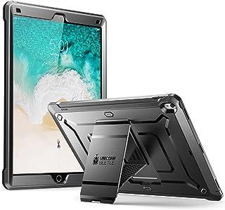 SUPCASE iPad Pro 12,9 2017 Hülle Unicorn Beetle PRO Schutzhülle Bumper Case Robust Cover, Schwarz
