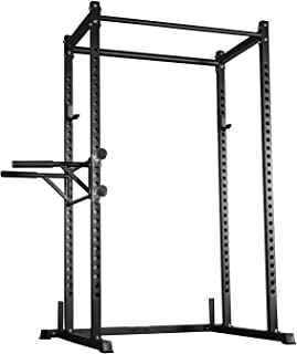 REP FITNESS Power Rack – PR-1000 – Dual Pullup Bars, Numbered Uprights, 1000 lb Rated, and Optional Upgrades