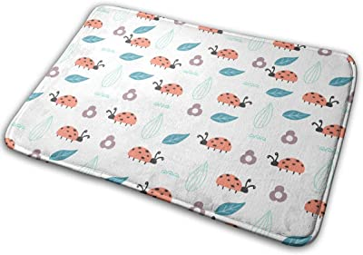 Cute Animals and Plants Carpet Non-Slip Welcome Front Doormat Entryway Carpet Washable Outdoor Indoor Mat Room Rug 15.7 X 23.6 inch