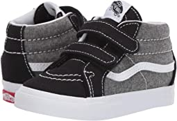 315b2ccea4 Vans kids sk8 mid reissue v toddler canvas suede charcoal