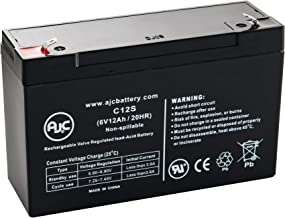Kung Long WP12-6S 6V 12Ah UPS Battery - This is an AJC Brand Replacement