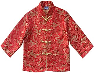 Hooyi Children Tang Coat Baby Boys Clothes Dragon Party Costumes Boy Jackets