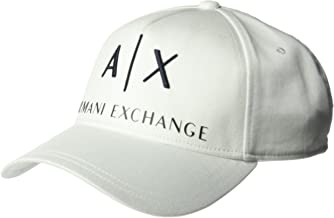 A|X Armani Exchange Men's Classic Logo Embroidery Hat