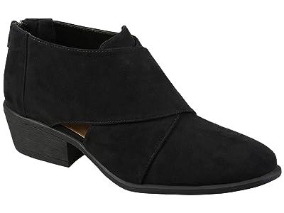Journee Collection Comfort Foam Avryl Bootie (Black) Women