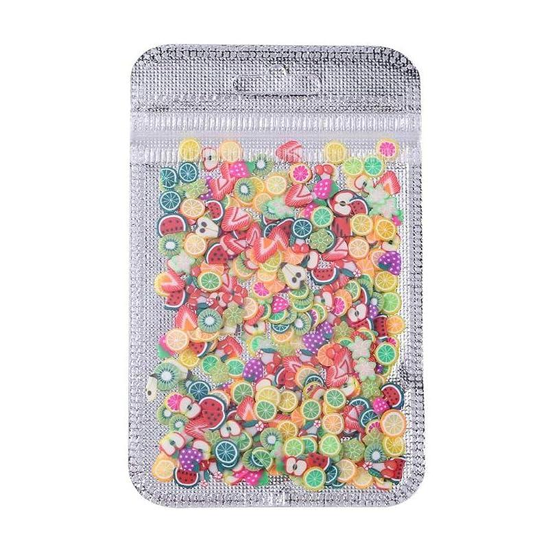 従来のアミューズ交流するネイルヒントインテリアネイルアートポリマー粘土装飾ヒントサロンデカールパッチ,Fruit