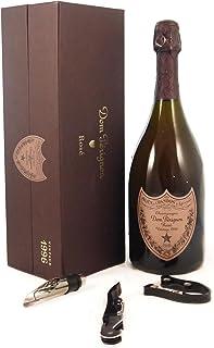 Dom Perignon Rose Vintage Champagne 1996 in a Original box with three wine accessories, 1 x 750ml