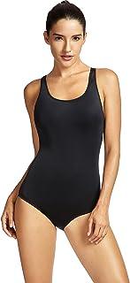 SYROKAN レディース 女性 X型バック 運動専門 競泳 フィットネス水着 ワンピース水着