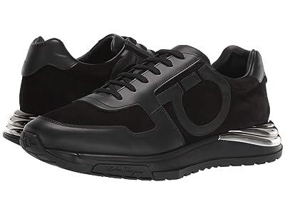 Salvatore Ferragamo Brooklyn Sneaker (Black) Men