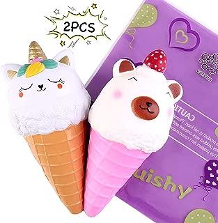 Best cat ice cream cone squishy Reviews