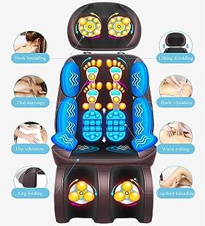 Fauteuil Massant Shiatsu Coussin de Massage Dos avec Chaleur - Siege Massant, Siège massant chauffant pour la voiture ou le bureau