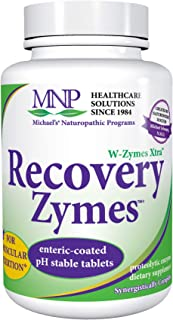 Michael's Naturopathic Programs Recovery Zymes - 1000 Enteric Coated pH Stable Tablets - Proteolytic Enzyme Supplement, Su...