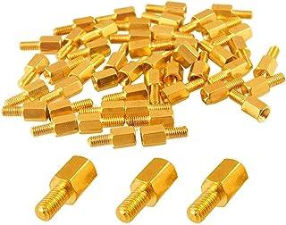 M3x12mm+6mm Brass Threaded Hexagonal Male//Female Standoff Spacer Pillar 20pcs