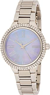 Michael Kors Womens Quartz Watch, Analog Display and Stainless Steel Strap MK6562