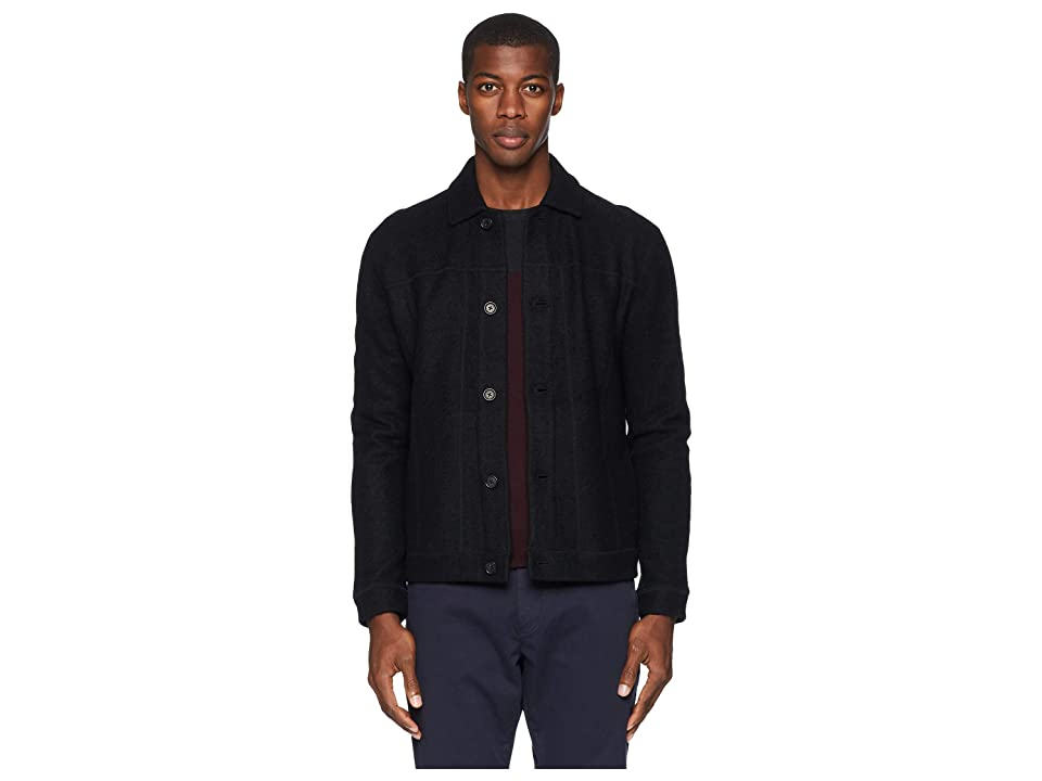 Image of Billy Reid Eastwood Jacket (Black) Men's Coat