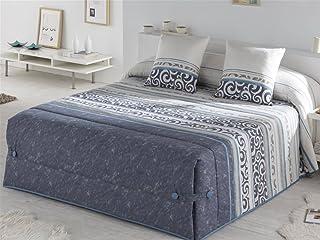 Tejidos JVR - Edredón Conforter Minos Cama 150 - Color Azul
