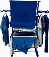 SUKOT-Mini Jumbo Double POLL Stainless Steel 2 Layer Cloth Dryer Stand