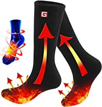 Rabbitroom Electric Heated Socks Thermal Heating Socks Foot Warmer 6-12 USA Size