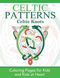 Celtic Knots: Coloring Pages for Kids & Kids at Heart (Hands-On Art History) (Volume 2)