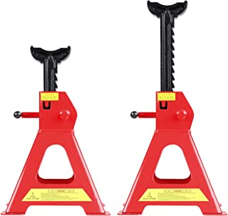 CARTMAN 2 Ton Jack Stands with Outer Foot pad (Sold in Pairs)