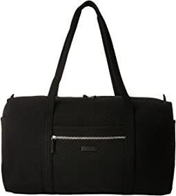 0faa1a2b5863 Quilted black chanel bag leather, Duffle Bags | Shipped Free at Zappos