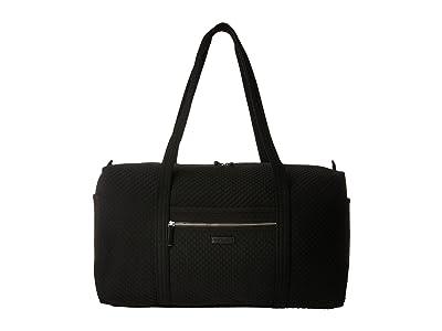 Vera Bradley Iconic Large Travel Duffel (Classic Black) Duffel Bags