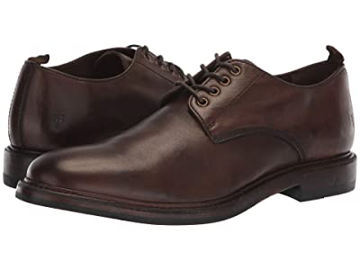Frye Murray Oxford (Brown Washed Dip-Dye Leather) Men