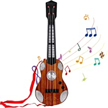 M SANMERSEN Kids Toy Guitar, 4 Strings Children Musical Instruments, Mini Ukulele Classical Educational Learning Guitar Toy for Toddler Beginner