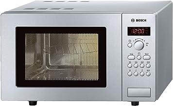 Bosch Microondas grill 17l hmt75g451 inoxidable