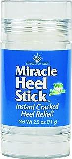 Miracle Heel Stick with Pure UltraAloe Aloe Vera Gel | 2.5 ounce stick (1 Pack)