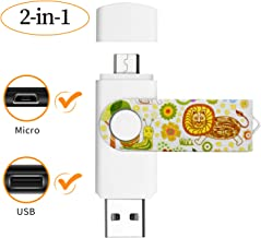 Vatapo OTG 128GB Flash Drive for Micro Android Phones,Tablets and PCs, Photo Stick for Samsung Galaxy S7,S6,S5,S4,S3.Note5,4,3,2.A5(2016),A7,A8,A9,C5,C7.LG V40,G4,Q7,LG Stylo3(Not for iPhone)