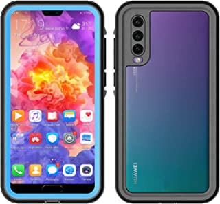 2m Waterproof 3m Shockproof Dustproof PC+TPU Case for Huawei P20 Pro New(Baby Blue) Dualn (Color : Light Blue)