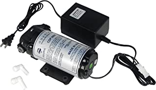 Aquatec 8800 series 8852 water pressure boost pump (+ heavy duty 3 Amp Transformer) for aeroponics 100 to 200 GPD RO system