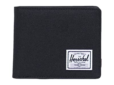 Herschel Supply Co. Roy Coin RFID (Black) Wallet Handbags