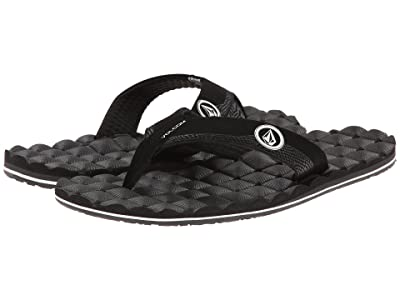 Volcom Recliner (Black White) Men