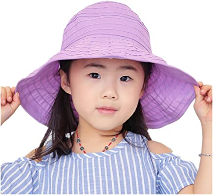 WENDYWU Baby & Toddler Flap Sun Protection Swim Summer Hat Baby Sun Hat