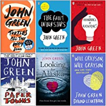 John Green Collection 6 Books Set (Turtles All the Way Down, The Fault in Our Stars, An Abundance of Katherines, Paper Tow...