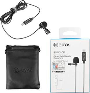 BOYA Clip-on Digital Omnidirectional Lavalier Microphone for DJI OSMO Pocket