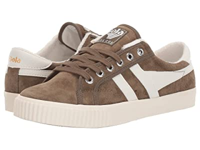 Gola Tennis Mark Cox Suede (Khaki/Off-White) Women